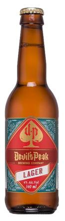 Devils Peak Brewing Co Lager