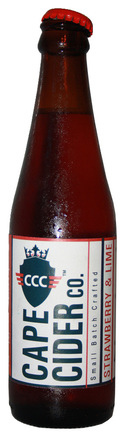 Cape Cider Co. Strawberry / Lime Cider