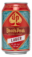 Devils Peak Brewing Co Lager Can
