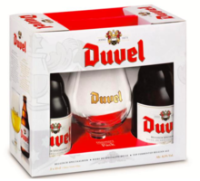 Duvel Duvel Gift Pack (Two Beers, One Glass)