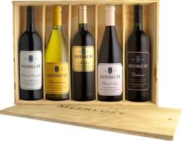 Meerlust Wine Estate Five Bottle Wooden Gift Box