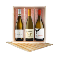 Curated Gifts White Platter 5 Star 3-bottle Gift Pack