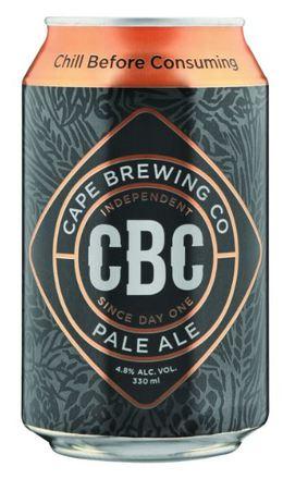 Cape Brewing Company CBC Pale Ale Can
