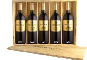 Meerlust Wine Estate Merlot Vertical Gift Box